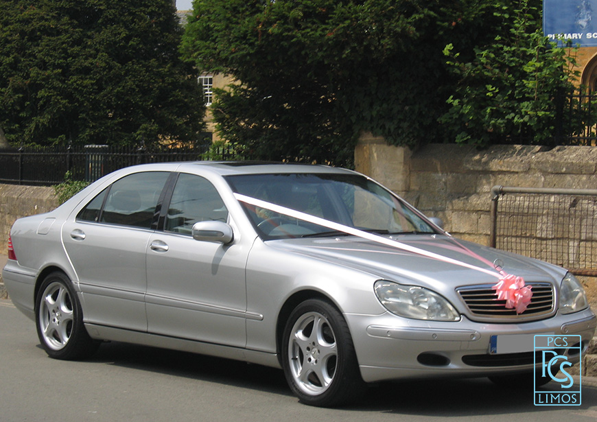 Mercedes Benz S Class Wedding Car Warwick