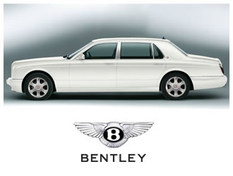 Bentley Arnage White Pearl Pearl - Wedding Cars