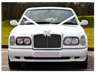 Bentley Arnage White Pearl - Wedding Cars